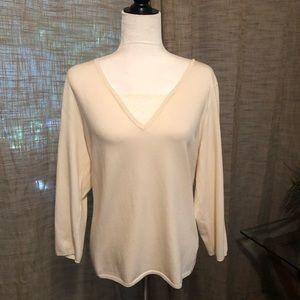 Lauren Size XL Cream Color Sweater